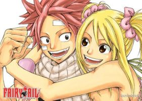 Fairy Tail: Natsu and Lucy by lacrimadoll