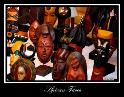 African faces by DeviantDrax