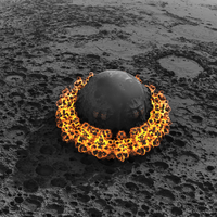 explosion experiment - Mandelbulb3D with Parameter by matze2001
