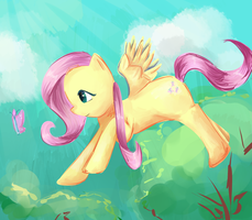 Fluttershy by moondapple