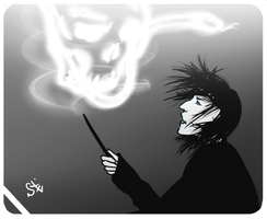 Show me your magic Severus by santagro