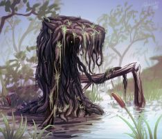 The moss creature by Advarsky