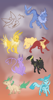 ALL the riley's by Appletail