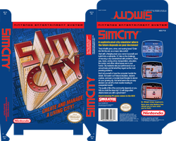Unreleased Sim City NES by vladictivo