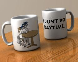 I Don't Do Coffee Mugs by AzraelleWormser