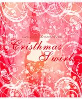 Christmas Swirls Brushes by Coby17