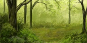 Forest by Bombuska