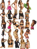 Victoria Secret models png ico by amirajuli