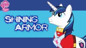 (REQUEST) Shining Armor Wallpaper by AceofPonies