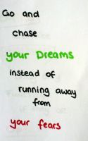 Chase your Dreams! (Day 14) by Hedwigs-art