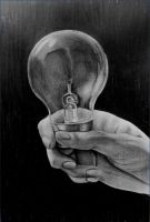Light bulb by haloanime97