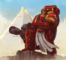 Thousand Sons Veteran by Blazbaros