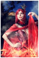 Melisandre of Asshai by ThelemaTherion