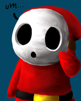 Shy Guy by SleepyKirby