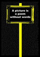a picture is a poem without wo by stignr
