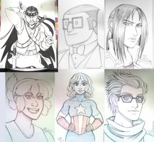 No Brand Con 2014 Commission Roundup by stuffaeamade