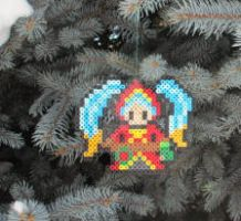 League of Legends Silent Night Sona Bead Sprite by ReinaLaura