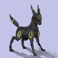 eeveelution: umbreon by Nigasuchan