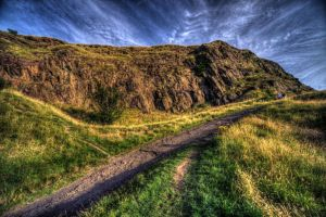 Salisbury Crags by kubica