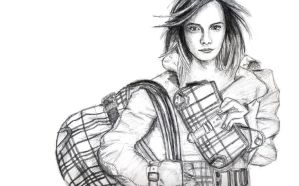 Emma Watson - Burberry by vivsters