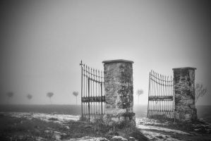 Silence Here and There by MarioDellagiovanna
