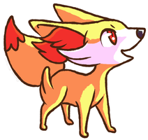 FENNEKIN. by fox-song