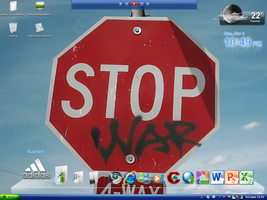 Stop war by Gus7avO