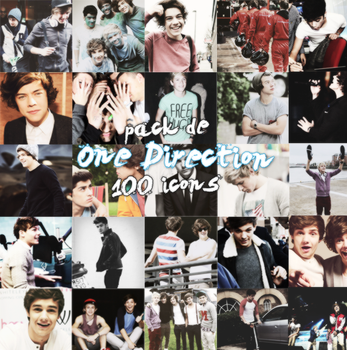 Pack de One Direction by heypsd