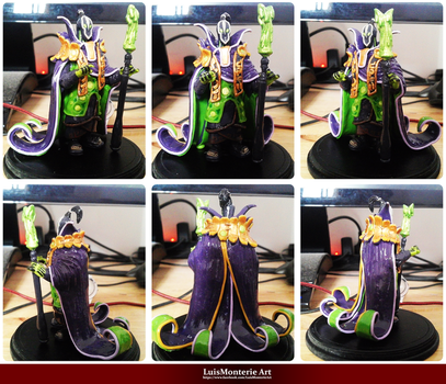 DOTA 2 Rubick Figurine - Rubick Action Figure by LuisMonterieArt