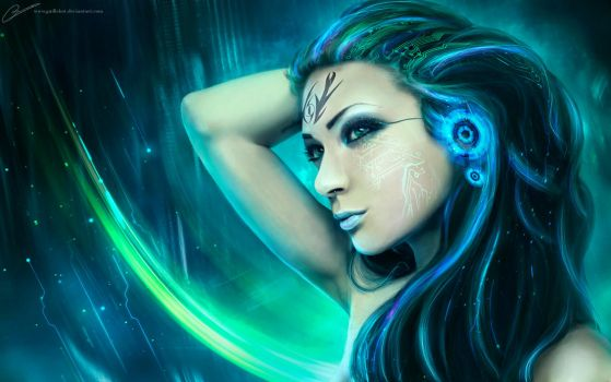 Cyber Goth 3 by GuilleBot