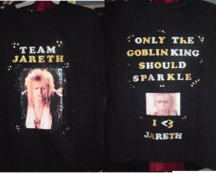 Team Jareth T-Shirt by LadyMidnight81