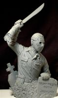 Friday the 13th bust by LocascioDesigns
