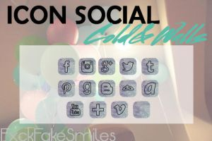 Iconos Redes Sociales Cold and Walls by FxckFakeSmiles