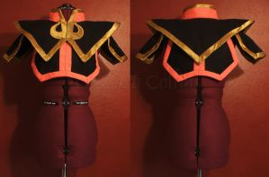 Azula's Armor by thatbloodypirate