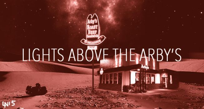 The Lights Above the Arby's by bigteamug