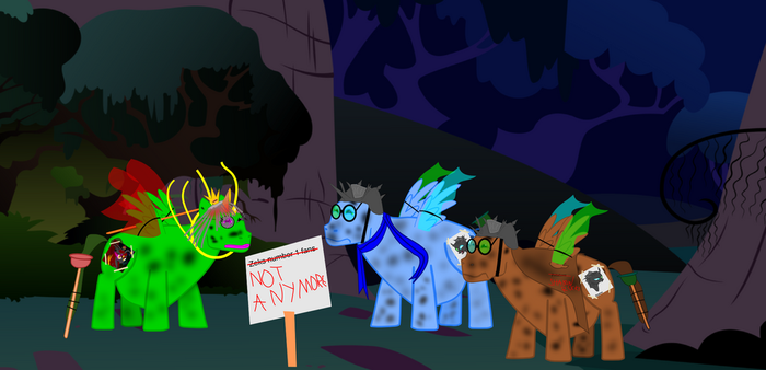 Lost fans by InvictusCastar