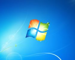 Windows Se7en Blue Wallpaper by save3c