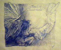 Skellig. sketch by The-ManWhoLaughs