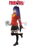 Fairy Tail Wendy Marvell Cosplay Costume by miccostumes