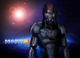 Mass Effect 3 The One (2010) by RedLineR91