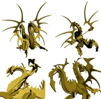 MDF Dragon - 3D preview by bapabst
