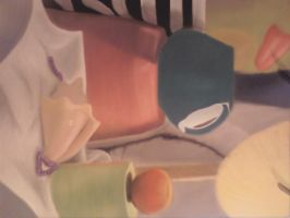 Colored Still Life by HannahRooth