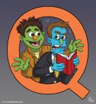 Avenue Q: Rod and Nicky by StudioBueno