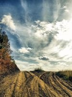 Two roads by FrantisekSpurny