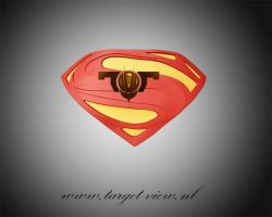 Man of Steel 3D Logo by TargetView