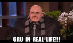 Gru in real life by MidnightRavenBlaz17