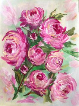 Bouquet of roses by IngridChristina