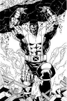 Colossus Final Ink by TyndallsQuest