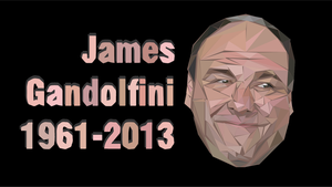 James Gandolfini Tribute 1961-2013 by santi-yo