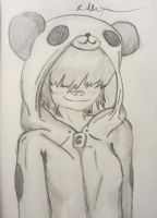 Panda Sweater- Noodle by lXxLinkinxXl